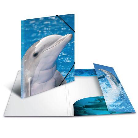 Herma mapa Delfini, A4, PP