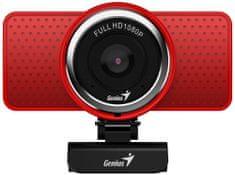 Genius Kamera ECam 8000, czerwona (32200001401)