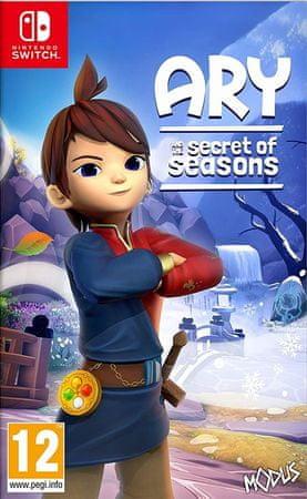 Maximum Games Ary and the Secret of Seasons igra (Switch)