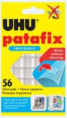 UHU Patafix lepilne blazinice, 56/1, prozorne