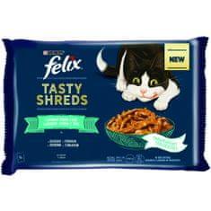 Felix Shreds okusen ribji izbor v soku, 12x (4x 80 g)