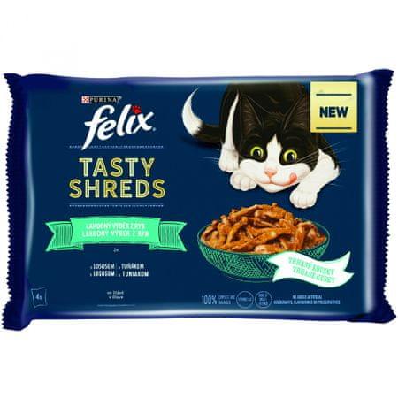 Felix Shreds hal finom választéka saját lében 12x(4x80 g)