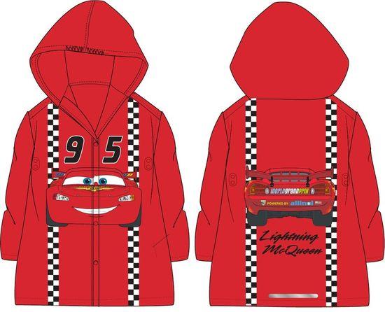 """Eplusm Chlapecká pláštěnka """"Blesk McQueen 95"""" - červená - 122–128 / 7–8 let"""