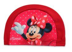 """SETINO Dívčí plavecká čepice """"Minnie Mouse"""" - červená"""
