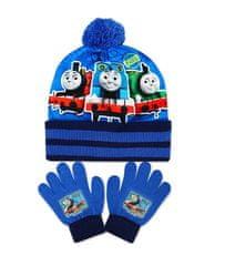 SETINO Fiú kalapja és ujjkesztyűlapová Thomas and Friends - világoskék