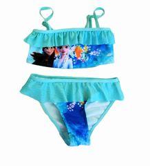 """SETINO Lány kétrészes fürdőruha """"Jégvarázs"""" - kék"""