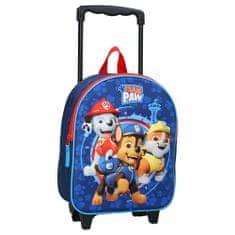 """Vadobag Gyerek utazási bőrönd kerekeken 3D """"Paw Patrol """"- kék"""