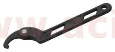 BIKESERVICE hákový klíč stavitelný (průměr 19 - 51 mm), BIKESERVICE BS0350
