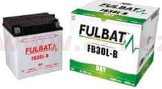 UNIBAT baterie 12V, FB30 l-B, 31,5Ah, 300A, konvenční 168x132x176 FULBAT (vč. balení elektrolytu) 550552