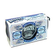 Reuzel Pigs Can Fly Dopp Bag Fiber pomáda 113 g + pomáda 35 g + Daily šampón 100 ml + taštička darčeková sada