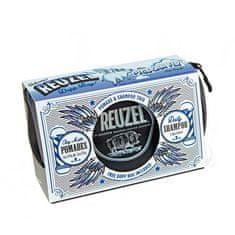 Reuzel Pigs Can Fly Dopp Bag Clay Matte pomáda 113 g + pomáda 35 g + Daily šampón 100 ml + taštička darčeková sada