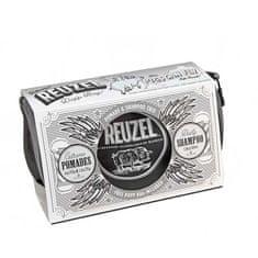 Reuzel Pigs Can Fly Dopp Bag Extreme pomáda 113 g + pomáda 35 g + Daily šampón 100 ml + taštička darčeková sada