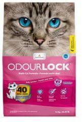 Intersand Kočkolit Intersand Odour Lock - vůně dětský pudr 12 kg