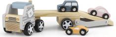 Viga Drevený kamión s autami