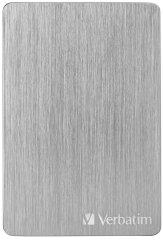 Verbatim Store´n´ Go ALU Slim 2TB, stříbrná (53666)