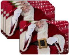 RoomDecor.eu Vánoční prostírání-006, 4 Ks