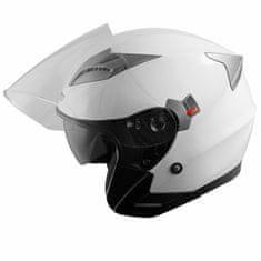 A-Pro Kinetic Jet čelada, bela