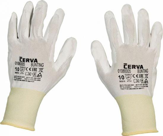 Cerva BUNTING rukavice nylonové 6