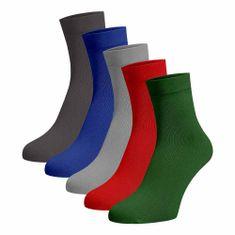 BENAMI Střední ponožky 5 pack Bavlna 35-38