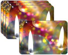 RoomDecor.eu Vianočné prestieranie-010, 4 Ks
