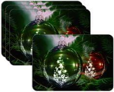 RoomDecor.eu Vianočné prestieranie-014, 4 Ks