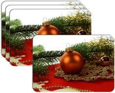 RoomDecor.eu Vianočné prestieranie-030, 4 Ks