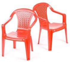 IPAE sada 2 židličky červené