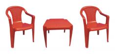 IPAE sada červená 2 židličky a stoleček