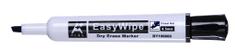 Aplus EasyWhipe C marker za bijelu ploču, skraćeni vrh, crni