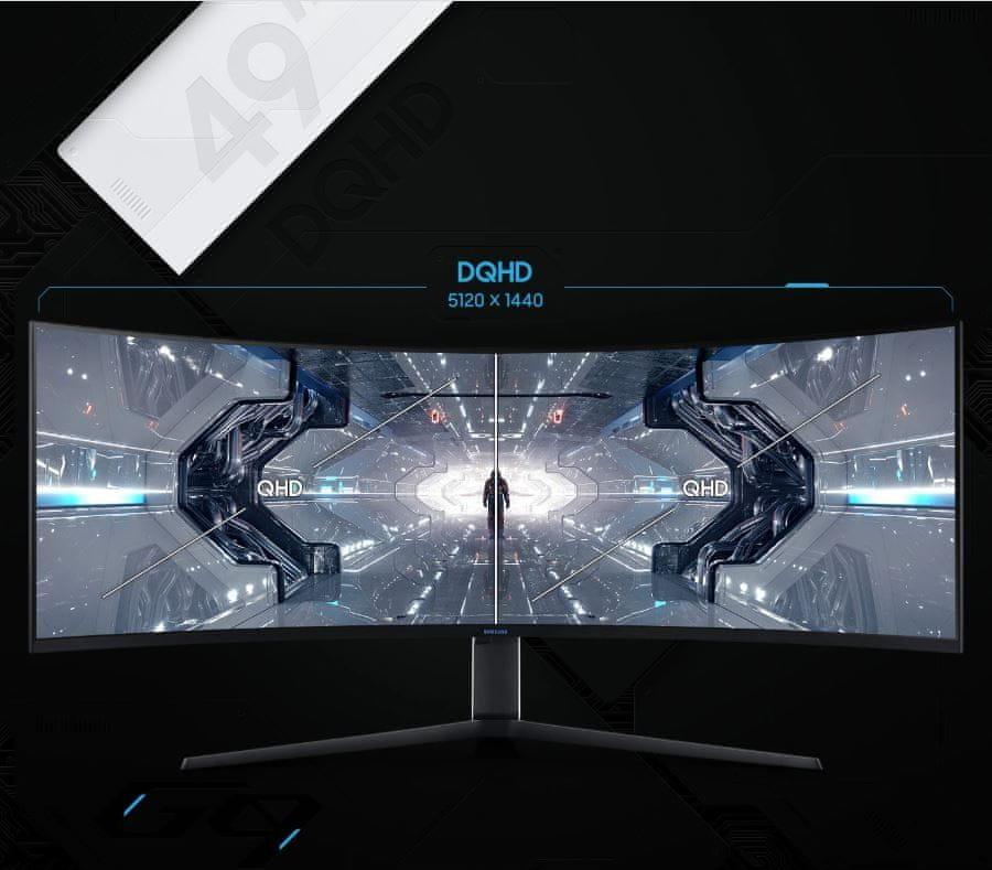 Monitor Samsung Odyssey G9 (LC49G95TSSUXEN) VA 49-calowy wyświetlacz biurowy