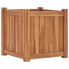 shumee Vyvýšený záhon 40 x 40 x 40 cm masivní teakové dřevo