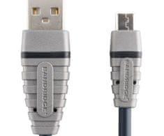 Bandridge Usb 2.0 mikro b kabel, 2m, bcl4902,