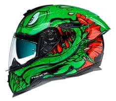 Nexx prilba SX.100R Abisal green/red