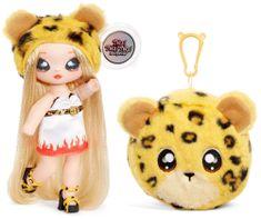 Na! Na! Na! Surprise lutka v plišasti živali 2in1, serija 3 - Jennel Jaguar