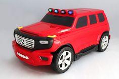 Beneo Detské Licencované odrážadlo a kufrík 2v1 Mercedes-Benz Ener-G-Force červené