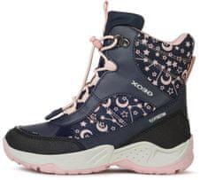 Geox dívčí kotníčková obuv Sentiero J04CFA 054FU C0694