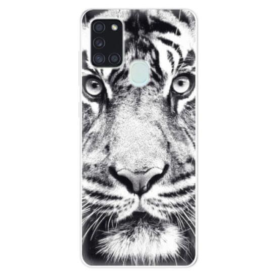 iSaprio Silikónové puzdro - Tiger Face pre Samsung Galaxy A21s