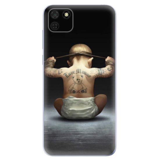 iSaprio Silikonové pouzdro - Crazy Baby pro Huawei Y5p