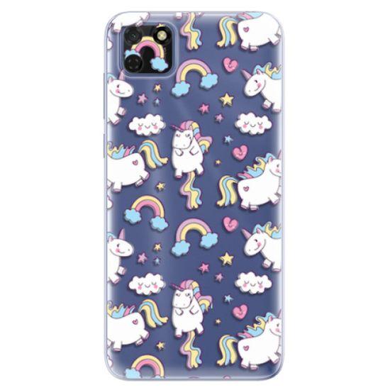 iSaprio Silikónové puzdro - Unicorn pattern 02 pre Huawei Y5p
