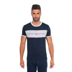 Tommy Hilfiger Pánske tričko tmavo modré (UM0UM01170 416)