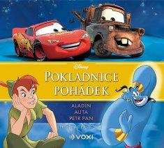 Disney - Aladin, Auta, Petr Pan (audiokniha pro děti)