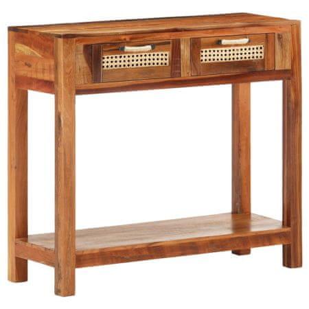 shumee tömör újrahasznosított fa tálalóasztal 86 x 30 x 76 cm