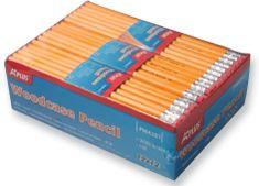 Aplus svinčnik z radirko, rumen