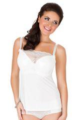Parfait Dámská košilka Parfait 7406 Sophia bílá perla