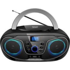 Silva MPC 19.4 prijenosni radio, USB, crno-srebrni