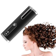 Tavalax Avtomatski brezžični avtomatski kodralnik las, Črna