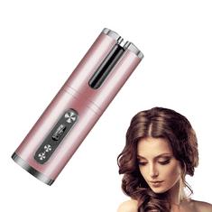Tavalax Avtomatski brezžični avtomatski kodralnik las, roza