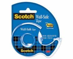 3M Scotch Wall-Safe lepilni trak, 19 mm x 16,5 m + stojalo za lepilni trak