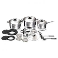Blaumann Sada nádobí nerez satin 15 ks Gourmet Line