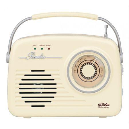Silva Mono 1965 tranzistor, bež